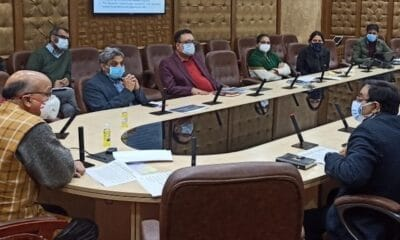 CS reviews execution of mining leases in J&K
